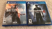 two Sony PS4 Games Clermont, 34711
