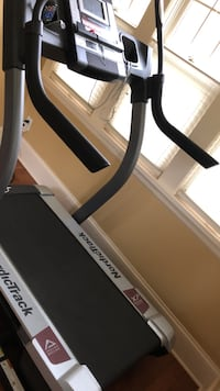 Black norditrack treadmill like new