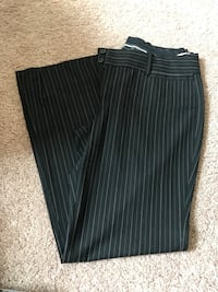 Black with pink and gray pin stripe dress pants Huntington, 25701