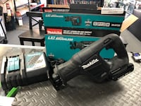 NEW TOOL Makita 18V LXT Lithium-Ion Sub-Compact Reciprocating Saw XRJ07ZB includes used battery and charger Santa Ana