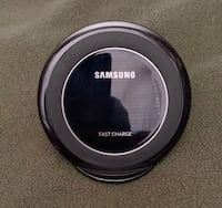 black Samsung wireless charging pad White River Junction, 05001
