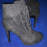 Size 10 heel booties  Baltimore, 21205
