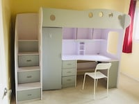 Bunker bed with table 莱克夏尔, N0R 1A0