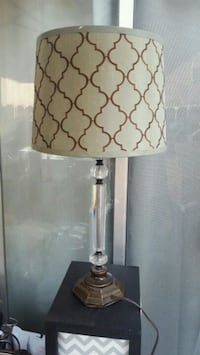 brown and white table lamp Fairfield, 94533