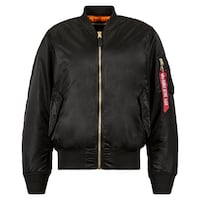 NEW Alpha Industries MA-1 Men's Flight Blood Chit Jacket XL Toronto