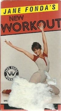 vhs Jane Fonda's Workout Newmarket