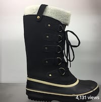 Brand new winter boots, size 6 but fits like size 5.