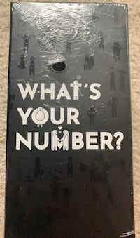 What's Your Number-card game