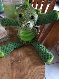 green and white knitted plush toy Windsor, N9C 1T6