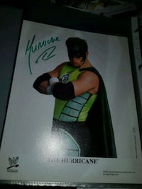 Glossy bilde av The Hurricane WWE WRESTLING  Oslo, 0594
