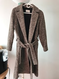 Sandro size 40 - wool/silk coat for sale
