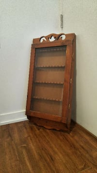 Vintage Spoon Rack Display Case