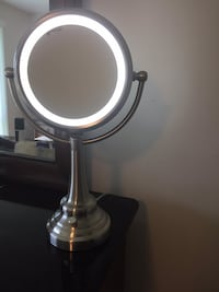 Makeup mirror with magnified side original price 60$ plus tax