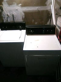 white top-load clothes washer and dryer set Sacramento, 95828