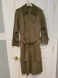 brown button-up coat Falls Church