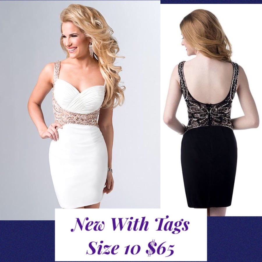 New With Tags Size 10 Short Formal Dresses $65
