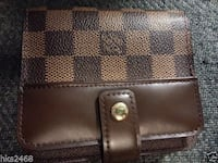 black and brown leather wallet Burnaby
