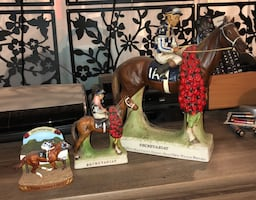 Horse racing collectibles