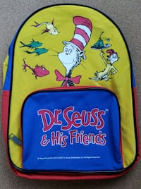 Dr. Seuss backpack  NEW Colton, 92324