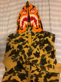 Bape tiger hoodie size medium Richmond, V7C 1M5