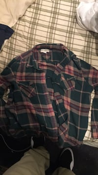 Flannel size large Dana Point, 92624