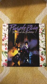 vinyl record- prince purple rain Laurel