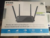 wireless router factory sealed  Toronto, M9V 4Y2