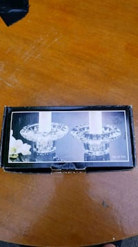 Crystal candlestick holders Kitchener, N2G 3A7