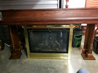 gas fire place with mantle  Johnson City, 37615