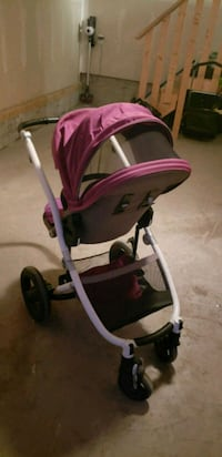 baby's pink and black stroller Calgary, T3M
