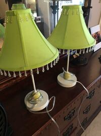 Two lime green lamps  Bartlett, 38133