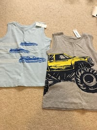 NEW Toddler Boys Old Navy tank tops 5T Burnaby, V3J