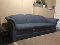 Blue Couch 3 Seater Sofa Calgary, T3J 1G2