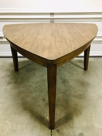 "Ashley Furniture Sturdy Dark Wood 60"" Triangle Counter Table 36""tall Las Vegas, 89131"