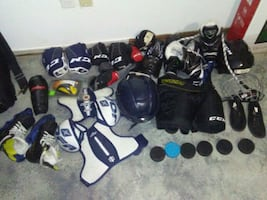 Peewee I've skates size 1 ccm 4092 pro. all the re