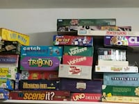 Board games selling 5-10 each Henderson