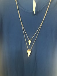 silver chain necklace with pendant Fairfax