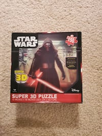 3 Star Wars Puzzles Tysons