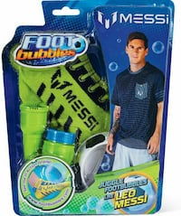 Leo Messi Foot Bubbles Stater Pack - Brand New!