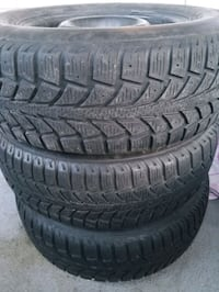Selling winter tires 195/70/R14 Toronto