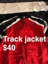 red and white zip-up jacket Pompano Beach, 33069