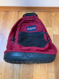 Expensive, Large Jansport Backpack with Patented Rubber Base Beaverton, 97007