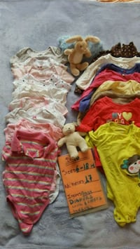 Baby diapers 6-18M - $10 3742 km