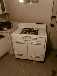 white 4-burner gas range oven Baltimore, 21218