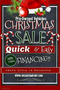 Pre-Owned Vehicles Christmas Sale AD