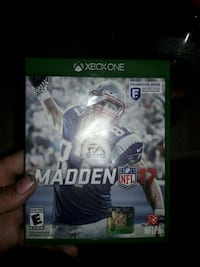 Madden NFL 17 Xbox One game case Manassas, 20109