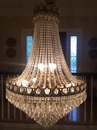 Palatial Crystal Chandelier Brentwood