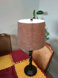 brown and white table lamp Mississauga