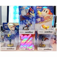 Pickup/Price is firm - Amiibos BNIB Toronto, M4B 2T2