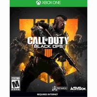 Xbox 1 Call of Duty Black Ops 4 disk  Cupertino, 95014